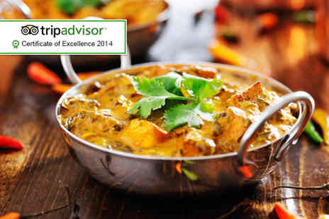 Elaichi Restaurant - Indian meal for two including a side and a coffee - Save 56%
