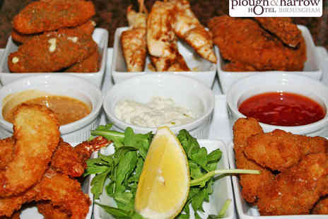 Plough and Harrow Hotel - 12 Small Tapas Plates to Share Between Two - Save 52%
