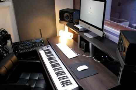Fusion Music Studios -  Two Hours  Recording Studio Plus CDs - Save 71%