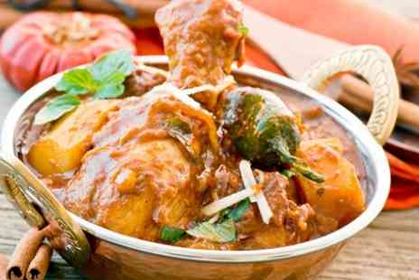 Champagne Indian Restaurant - Two Course Meal For Two - Save 47%