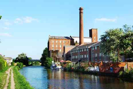 MBARK Cruises  - Burscough Barge Cruise for 2 with Afternoon Tea  - Save 59%