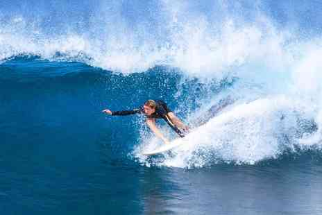 Walking on Waves -  Two Hour Surf Lesson - Save 30%