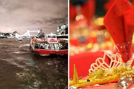 intotheblue - Festive Thames Dining Cruises - Save 50%