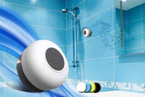 Eurosfield Maptrak - Bluetooth shower speaker - Save 57%