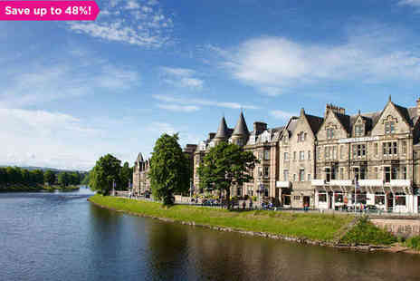 The Columba Hotel - One night stay in Historic Inverness - Save 48%