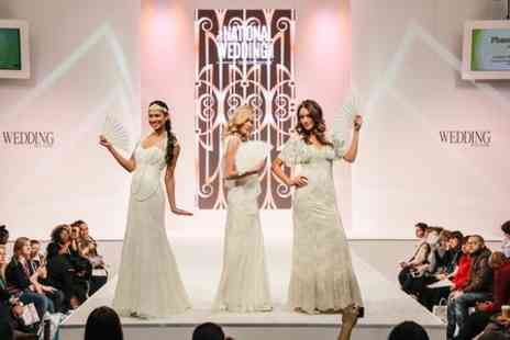 National Wedding Show - The National Wedding Show Entry  - Save 52%