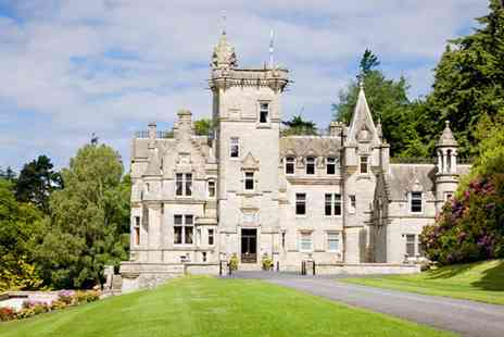 Kinnettles Castle -  Afternoon Tea & Tour for 2 - Save 50%