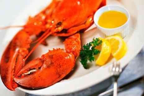 The Big Mussel - Lobster Dinner For One - Save 34%