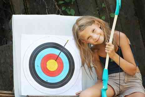 GTS Adventure - Kids Archery Party With Another Activity For Five or Eight Guests - Save 52%