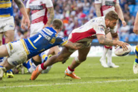 Wigan Warriors - Tickets to Wigan Warriors v Leeds Rhinos Rugby League Match - Save 44%