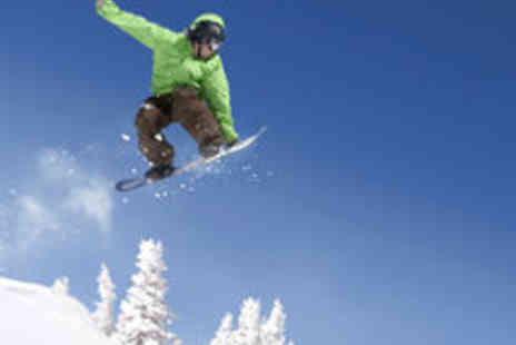 Ski Rossendale - One Hour Beginners Snowboarding Lessons for Adults and Children - Save 50%