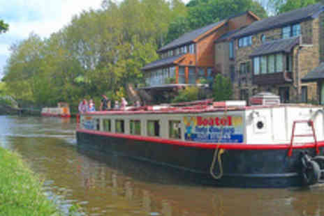 Boatel Party Cruises - 90 Minute Canal Cruise and Cream Tea for Two - Save 68%