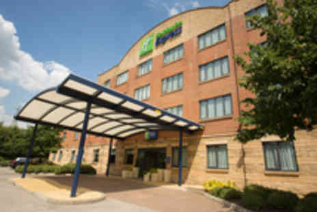 Holiday Inn Express - One night  Stay in Liverpool with Children's Tickets to Knowsley Safari Park - Save 59%