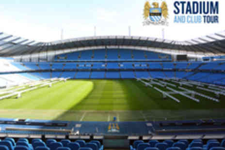 Manchester City Football Club - Adult or Family Entry to the Manchester City FC Stadium Tour with Photo - Save 50%