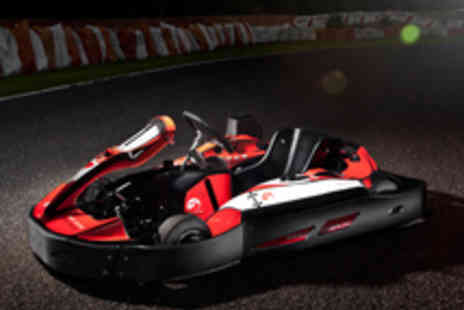 Three Sisters Race Circuit - 15 Minute Go Karting Session for One - Save 40%