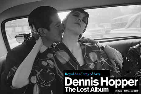 The Royal Academy Of Arts - Entry to Dennis Hopper The Lost Album Photography Exhibition - Save 5%