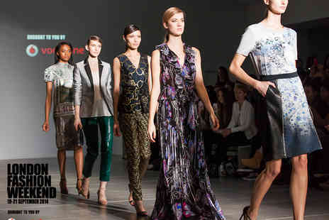 SME London - Ticket to the Vodafone London Fashion Weekend - Save 7%