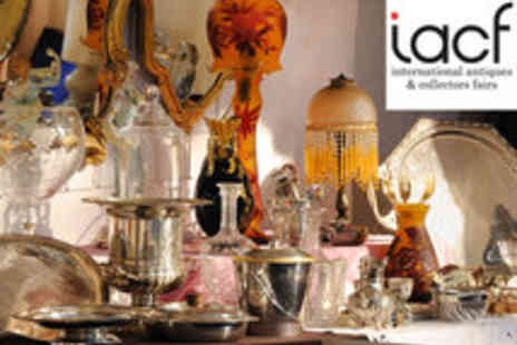 IACF - Entry to the International Antiques and Collectors Fair  - Save 50%