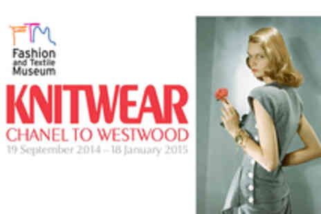 Fashion and Textile Museum - Entry to Knitwear Chanel to Westwood Exhibition - Save 37%