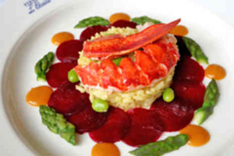 Elenas LEtoile - Two Course French Dining for Two with Wine - Save 52%