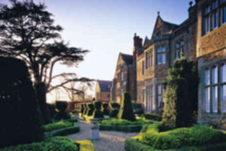 Fawsley Hall Hotel - Daventry Spa Day with Treatment and Choice of Champagne Afternoon Tea  - Save 40%