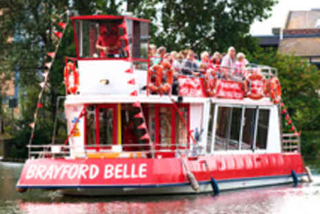 Brayford Belle Lincoln - Fossdyke Canal Cruise Aboard the Brayford Belle - Save 62%