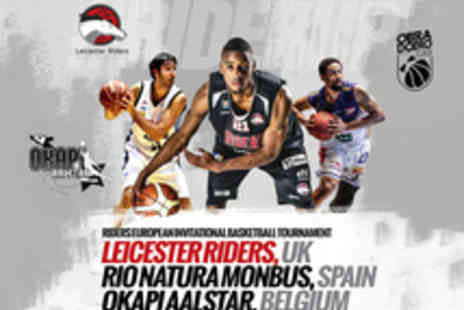 Leicester Riders - Tickets to Leicester Riders Basketball Matches  - Save 44%