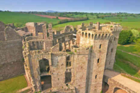 Cadw - Family Entry To Raglan Castle - Save 26%