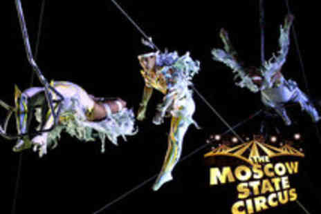 Moscow State Circus - Tickets to the Moscow State Circus - Save 54%