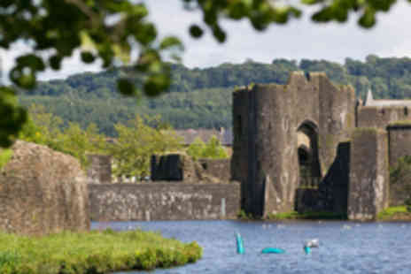 Cadw - Family Entry to Caerphilly Castle - Save 39%