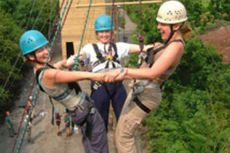 Black Mountain Activities - High Level Ropes Course for One - Save 32%