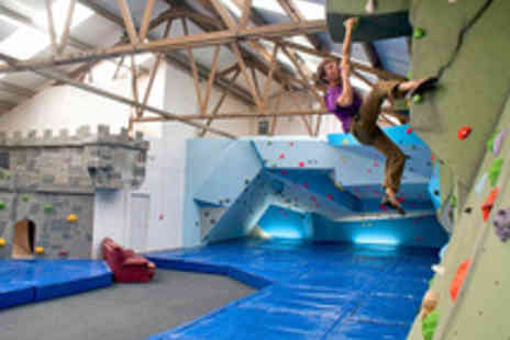 The Climbing Hangar - Full Day Access to The Climbing Hangar with Equipment - Save 67%