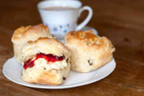 Cafe Cross the Mersey - Classic Cream Tea for Two  - Save 58%
