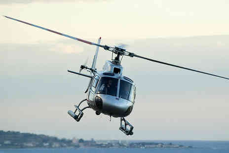 Helicentre - Helicopter Tour of Liverpool for One  - Save 27%