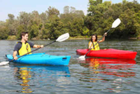 Paddlepower and Adventure - A Choice of Introductory Canoeing or Kayaking Courses for One - Save 50%