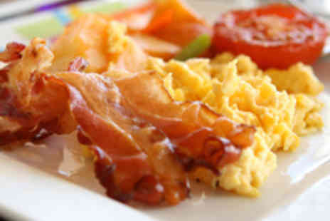 Red Pepper - Full English Brunch for Two with Prosecco Each - Save 50%