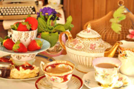 Cox and Baloney  - Vintage Afternoon Tea for Two  - Save 48%