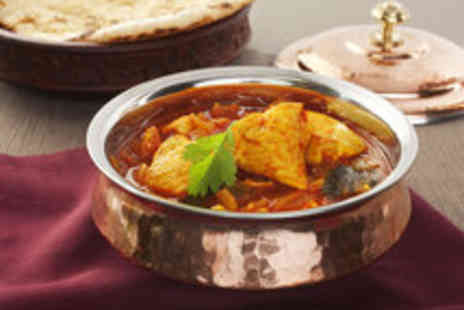 Hyderabad Nawabs - Mouthwatering Indian Two Course Meal with Sides for Two  - Save 47%