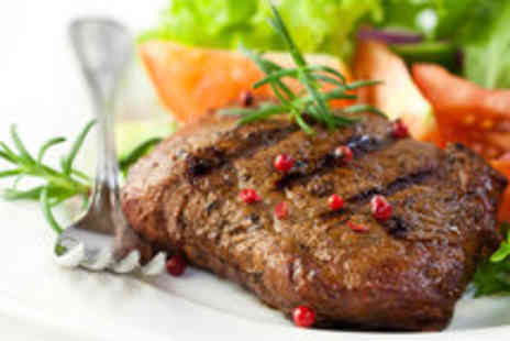 Park View - Classic Steak Dinner with Sides and Wine for Two - Save 51%