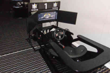 The Race Centre - One Hour Formula One Race Simulation Experience for Two  - Save 51%