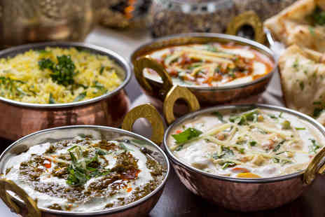 Kiplings - Modern Indian Three Course Dining for Two - Save 49%