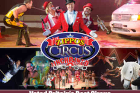 Quaytickets - Tickets to Zippos Circus Presents Unchained - Save 40%