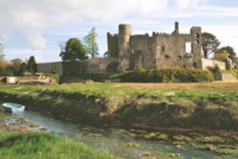 Cadw - Family Entry to Historic Laugharne Castle - Save 12%