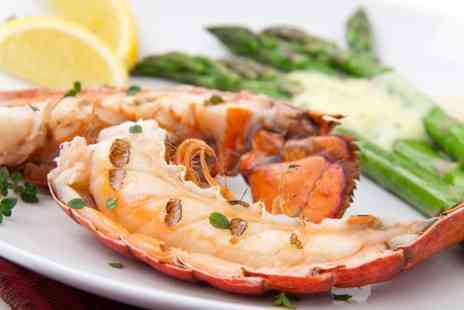 Finest of Fish - Lobster platter to share between 2two including a glass of wine - Save 50%