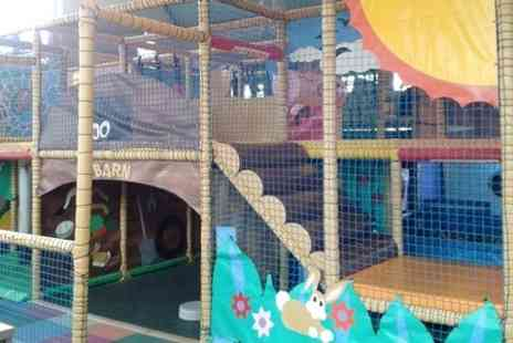 Noahs Ark Softplay - Soft Play With Drink For Two - Save 49%