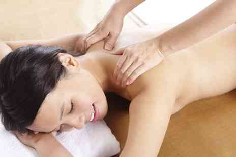 Hairticians - Back, Neck and Shoulder Massage With Indian Head or Foot Massage - Save 65%