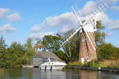 Norfolk Broads Charter - Half Day Cruise With Fizz For Up to Six  - Save 40%