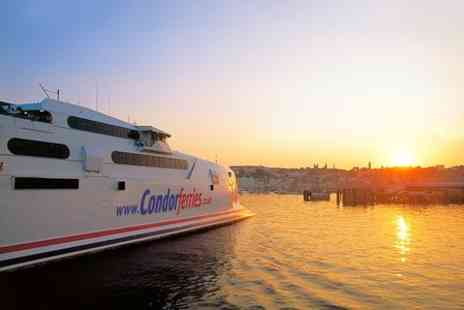 Condor Ferries -  Return Day Trip From Weymouth or Poole  - Save 50%