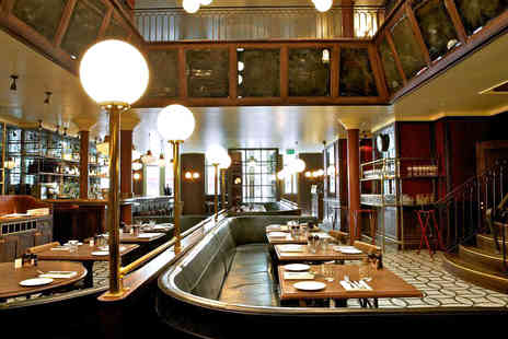 Les Deux Salons - Two Course French Brasserie Dining with a Cocktail for Two - Save 39%