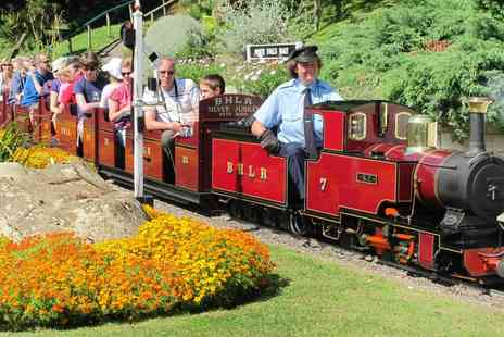 Pecorama - Two Tickets to Railway Theme Pleasure Gardens with Rides - Save 59%